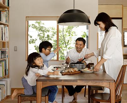 家族らしさを大切に イメージ写真